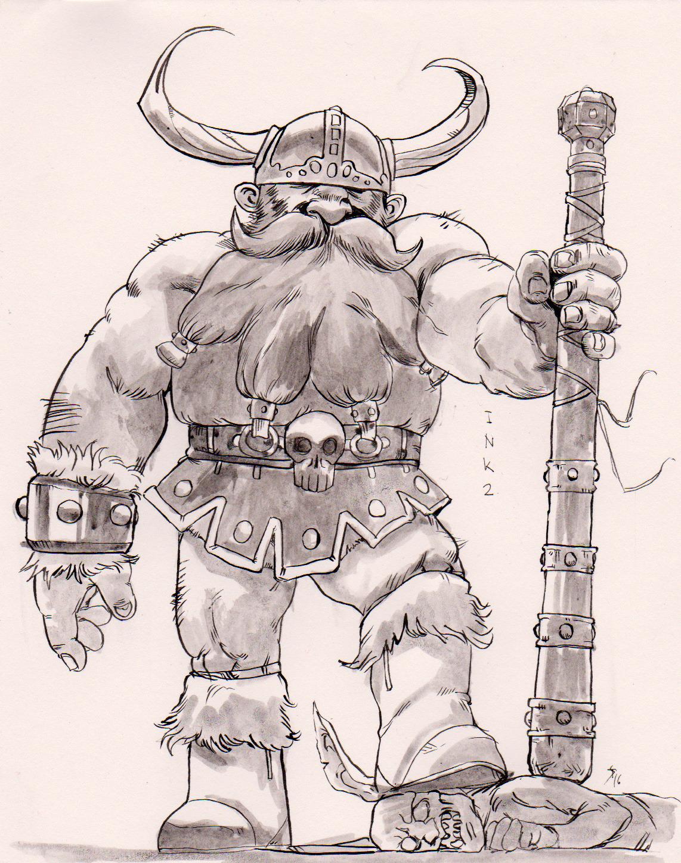 """the-murdellicious Inktober: """"Anti-Goblin Forces"""" - by Tuomas Salmela themurling.tumblr.com (2016) © dell'autore tutti i diritti riservati"""