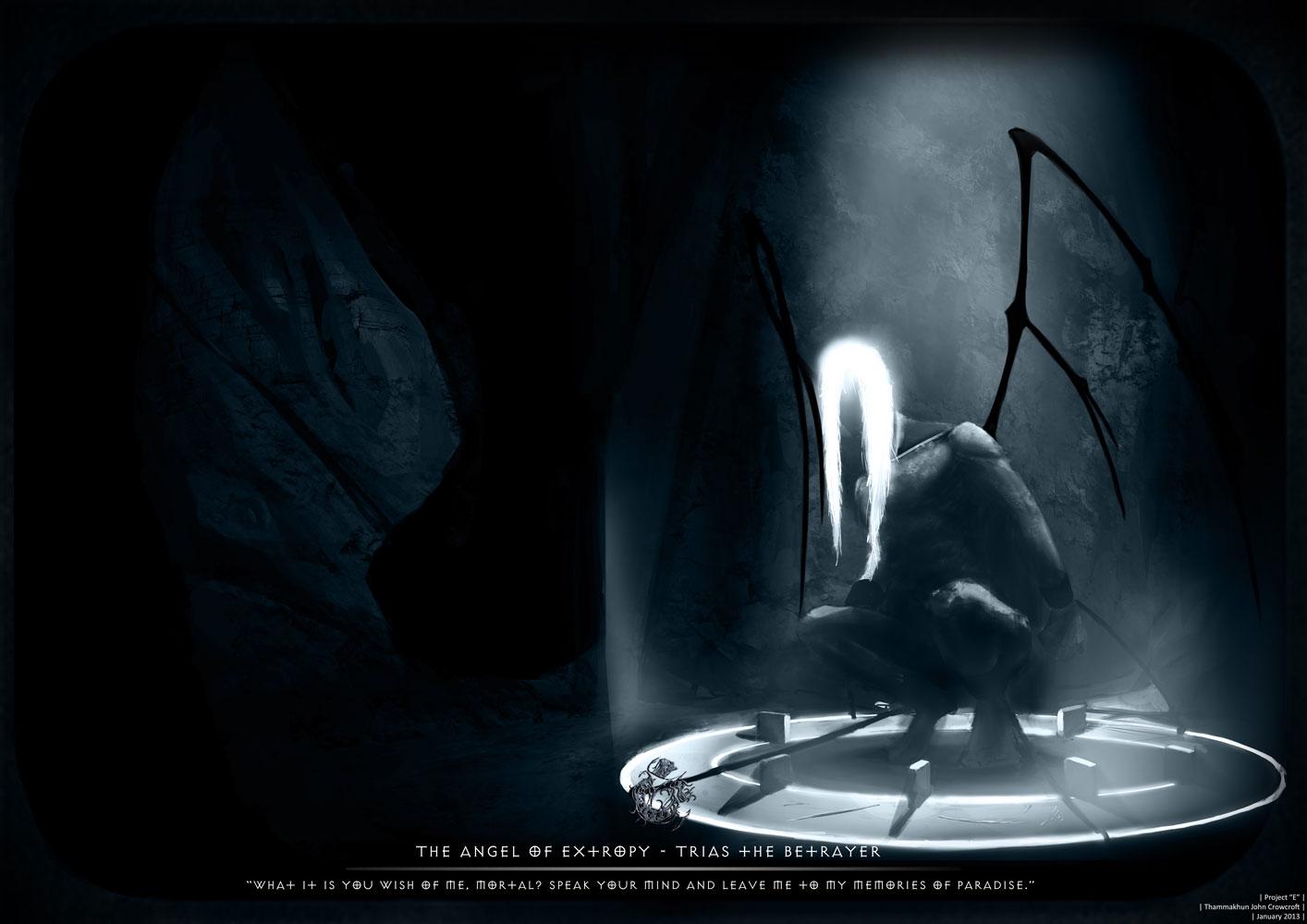 """john crowcroft """"Extropy"""", Project 'E' quarta parte, Trias in opposizione a Coaxmetal - by Vox-Maledictum (Thammakhun John Crowcroft) vox-maledictum.deviantart.com (2013-01) © dell'autore tutti i diritti riservati"""
