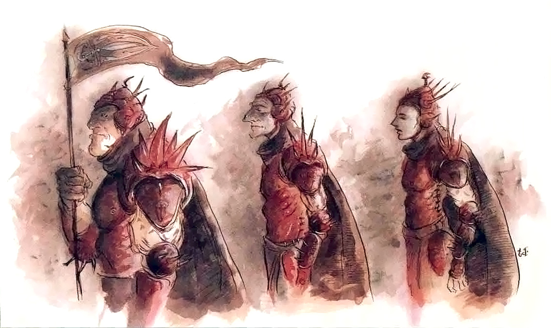 harmonium patrol sigil Una squadra di Harmonium - by Tony Diterlizzi TSR - The Factol's Manifesto (1995) © Wizards of the Coast & Hasbro