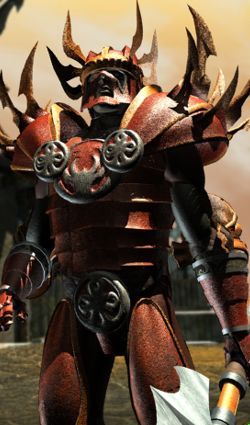 harmonium guard Guardia Harmonium, rendering Planescape Torment (1999) © Black Isle, Wizards of the Coast & Hasbro