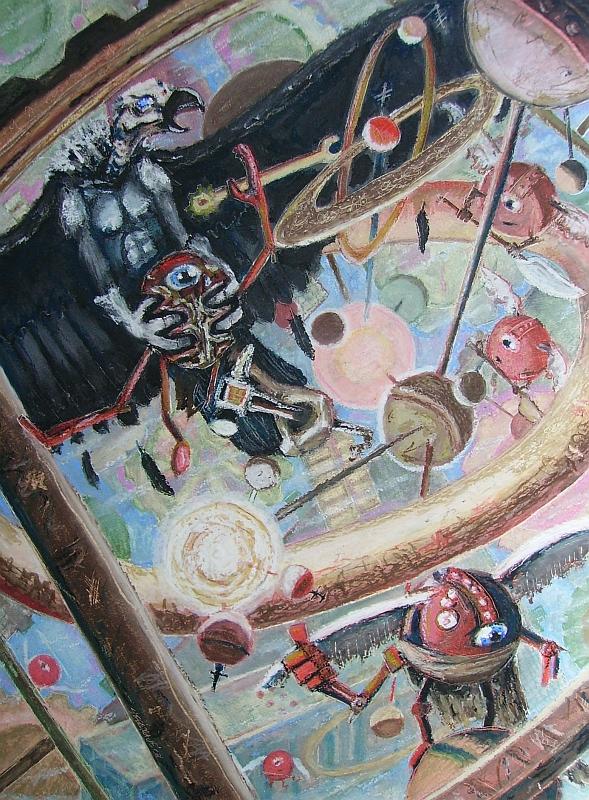 """steelgrave vrock monodrone """"Mechanus"""", intrusioni demoniache - by steelgrave (Shaun) steelgrave.deviantart.com (2008) © dell'autore tutti i diritti riservati"""