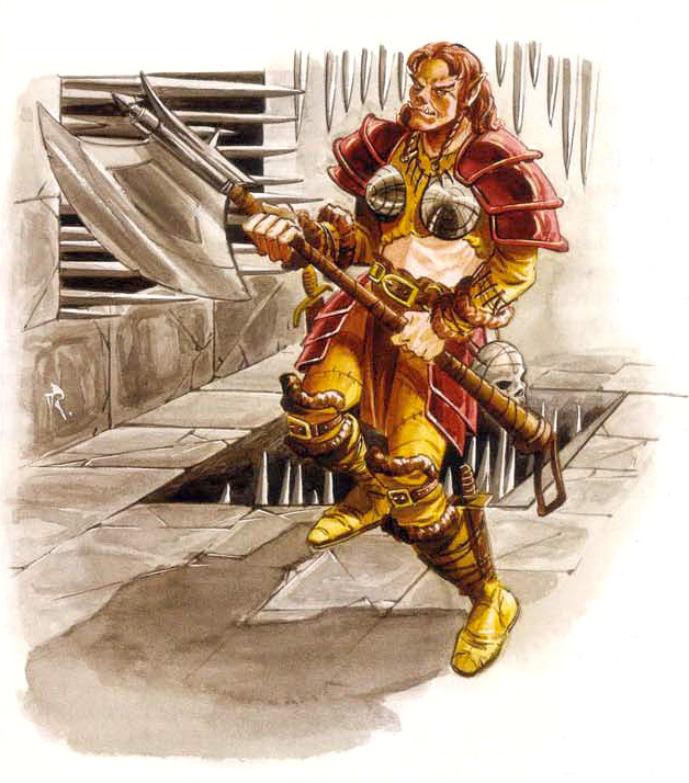 cypher Mezzorchessa dell'Ordine Trascendente - by David Roach Planar Handbook, A Player's Guide to the Planes (2004) © Wizards of the Coast & Hasbro