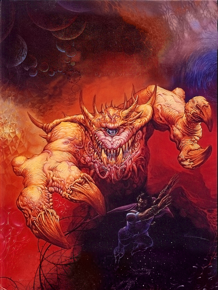 astral dreadnought Terrore Astrale - by Jeff Easley TSR - Manual of the Planes (1987-06) © Wizards of the Coast & Hasbro