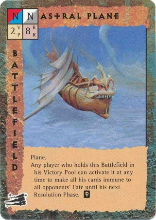"githyanki ""Astral Plane"", il vuoto Astrale - by Dana Knutson TSR - ""Blood Wars"" card game Base Pack (1995) © Wizards of the Coast & Hasbro"