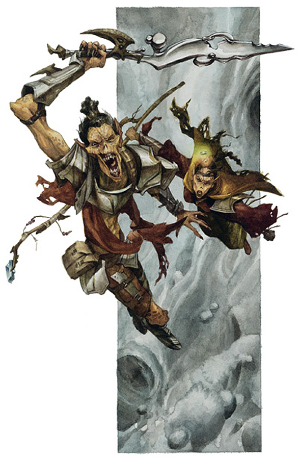 {$tags} Pirati Githyanki nell'Astrale - by Raven Mimura WOTC - Guida del Dungeon Master v3.5 (2003) © Wizards of the Coast, 25 Edition & Hasbro