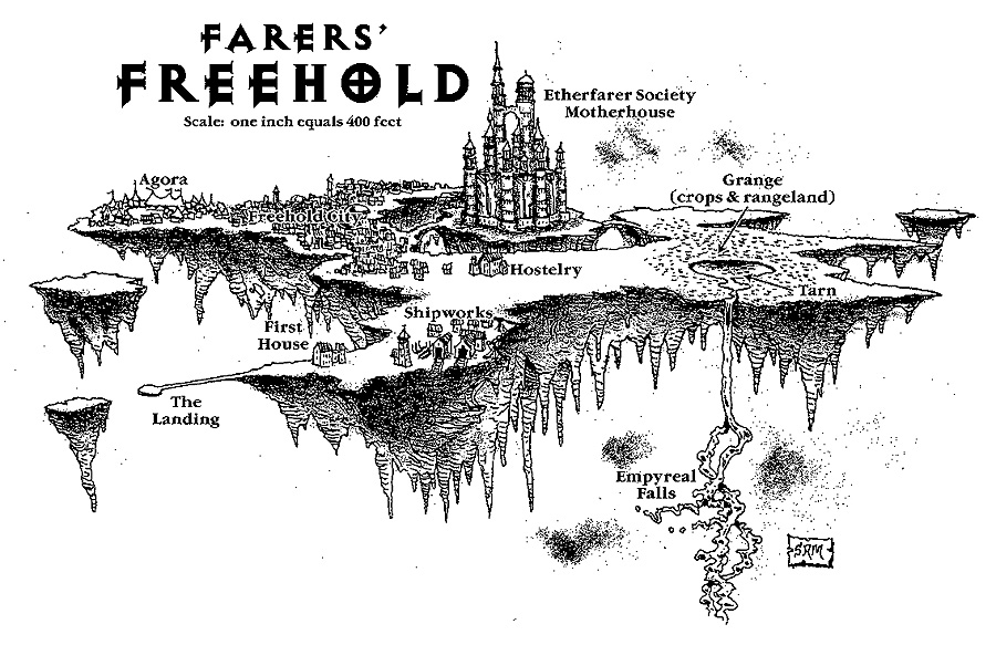 farer's freehold ethereal La città di Freehold - by Sam Wood TSR - A Guide to the Etereal Plane (1998-08) © Wizards of the Coast & Hasbro