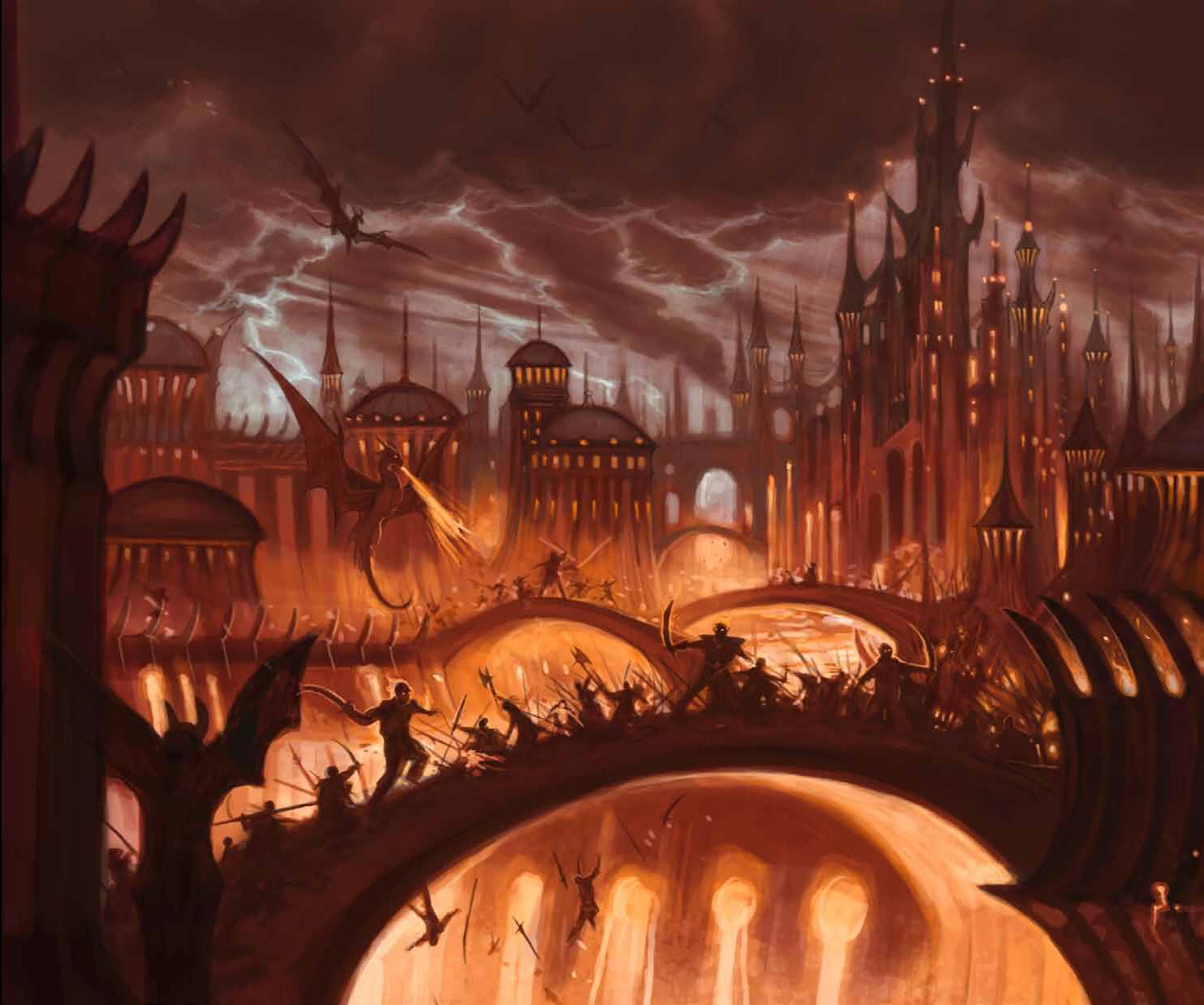 {$tags} Battaglia nella Città di Ottone - by William O'Connor Dungeon Magazine # 174 (2010-01) © Wizards of the Coast, PAIZO & Hasbro