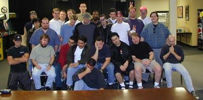 """torment team Il Team di sviluppo di """"Planescape: Torment"""" Planescape: Torment (1999) © Interplay Inc. e Black Isle Studios"""