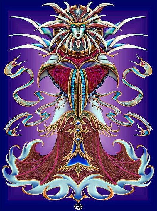"JordarAd ""Lady of Pain"" - by Genevra Brown (WrensHollow) wrenshollow.deviantart.com (2006) © dell'autore tutti i diritti riservati"