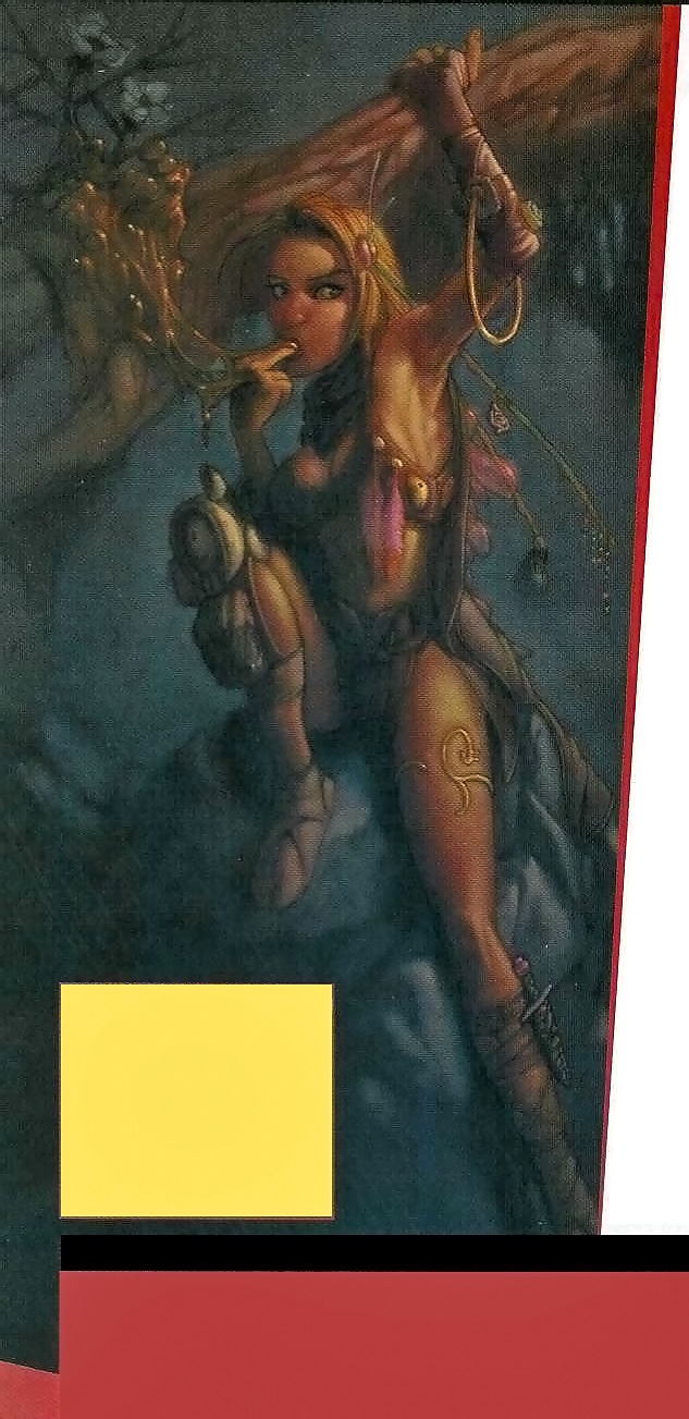 {$tags} Sensista - by Mike May Dragon Magazine #287 (2001-09) © Wizards of the Coast & Hasbro