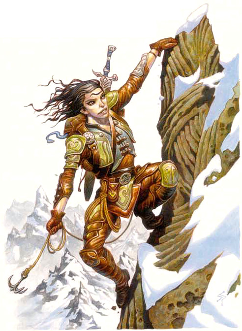 sensate Sensista in cerca di emozioni - by Steve Prescott Planar Handbook, A Player's Guide to the Planes (2004) © Wizards of the Coast & Hasbro