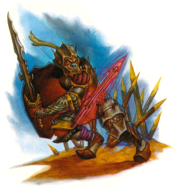 sensate Xaositect bugbear - by Jim Pavelec Planar Handbook, A Player's Guide to the Planes (2004) © Wizards of the Coast & Hasbro