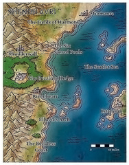 {$tags} Mappa di Shendilavri Fiendish Codex I, Hordes of the Abyss (2006) © Wizards of the Coast & Hasbro