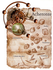 acheron Schema del piano di Acheronte Manuale dei Piani (2005) © Wizards of the Coast, 25 Edition & Hasbro