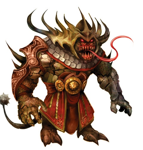 {$tags} Div akvan - by Eva Widermann **//Pathfinder Roleplaying Game - Bestiario 3//** (2011) © Paizo Publishing, LLC, Wyrd Edizioni