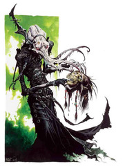 {$tags} Alhoon Illithid - by Wayne Reynolds Lords of Madness: The Book of Aberrations (2005-04) © Wizards of the Coast & Hasbro