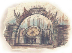 the mortuary sigil hive Il Mortuario - by Tony Diterlizzi TSR - The Factol's Manifesto (1995-06) © Wizards of the Coast & Hasbro