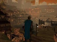 """purgatorio boneyard pond Lo Stagno delle Ossa, vicino alla zona delle Macerie - screenshot dal modulo """"Planescape: Purgatorio"""" NWN2 module - Planescape: Purgatorio (2006-2012) © Atari, Rogue Dao Studios"""