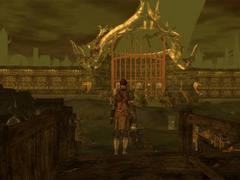 """purgatorio the gatehouse Il Cancello della Trista Cabala - screenshot dal modulo """"Planescape: Purgatorio"""" NWN2 module - Planescape: Purgatorio (2006-2012) © Atari, Rogue Dao Studios"""