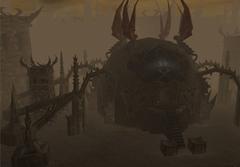 """purgatorio mortuary La struttura del Mortuario - screenshot dal modulo """"Planescape: Purgatorio"""" NWN2 module - Planescape: Purgatorio (2006-2012) © Atari, Rogue Dao Studios"""