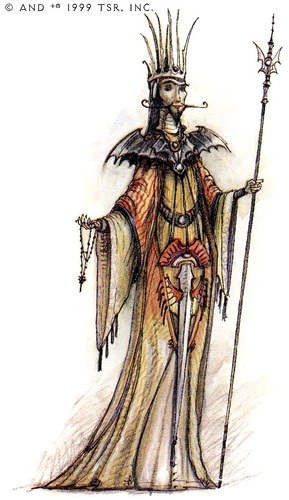 {$tags} Factol Ambar Vergrove - by Tony Diterlizzi TSR - Planescape Campaign Setting: A Player's Guide to the Planes (1994-04) © Wizards of the Coast & Hasbro