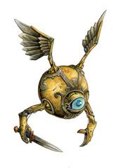 {$tags} Un Inevitabile Arbiter - by Florian Stitz Pathfinder Roleplaying Game Bestiary 2 (2010) © Paizo Publishing, Wizards of the Coast & Hasbro