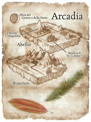 plane of arcadia Schema del piano di Arcadia Manuale dei Piani (2005) © Wizards of the Coast, 25 Edition & Hasbro