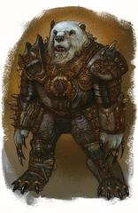 {$tags} Un possente arconte Guardiano - by Mark Nelson Libro delle Imprese Eroiche (2003) © Wizards of the Coast, 25 Edition & Hasbro