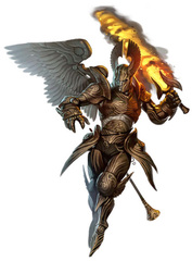 {$tags} Arconte Legione - by Eric Belisle Pathfinder Roleplaying Game Bestiary 3 (2012-01) © Paizo Publishing, Wizards of the Coast & Hasbro