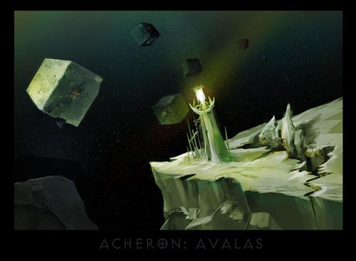 "ronamis ""Acheron - Avalas"", cartolina dei Piani Esterni - by ronamis (Michael Malkin) ronamis.deviantart.com (2013) © dell'autore tutti i diritti riservati"
