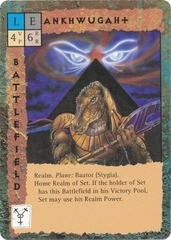 "stygia baator ""Ankhwugaht"", reame di Set - by Newt Ewell TSR - ""Blood Wars"" card game Base Escalation Pack 3, Powers & Proxies (1995) © Wizards of the Coast & Hasbro"