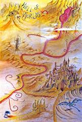 {$tags} Mappa di Avernus - by Rob Lazzaretti TSR - Well of Worlds (1994) © Wizards of the Coast & Hasbro