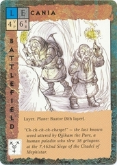 "baator ""Cania"", le miniere dello strato - by Tony Diterlizzi TSR - ""Blood Wars"" card game Base Escalation Pack 3, Powers & Proxies (1995) © Wizards of the Coast & Hasbro"