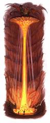 small caverns of fiery splendor avernus Le caverne dello Splendore Fiammeggiante di Tiamat - by William O'Connor
