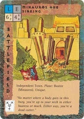 "small battlefield city ""Minauros the Sinking"", la città che affonda - by David C Sutherland III"