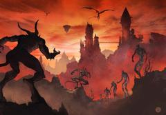 small hell baator soulshells devils Diavoli e Supplicanti condannati all'Inferno sotto forma di Gusci d'anima.