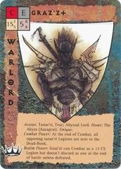 Planescape Blood Wars CCG base pack warlord avatar