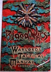 "warlord's tactical manual Copertina della guida alle carte di ""Blood Wars"" TSR - ""Blood Wars"" card game, Warlord's Tactical Manual Reference Guide (1995) © Wizards of the Coast & Hasbro"