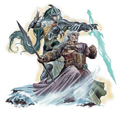 {$tags} Gli eladrin bralani e ghaele - by Wayne Reynolds Manuale dei Mostri (2003) © Wizards of the Coast, 25 Edition & Hasbro