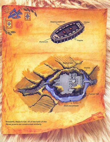 {$tags} Breidablik, la dimora di Balder TSR - Planes of Chaos, the Travelogue (1994-07) © Wizards of the Coast & Hasbro
