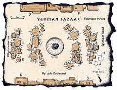 yeoman's bazaar Il Bazar di Yeoman su Dothion TSR - Planes of Conflict (1995-11) © Wizards of the Coast & Hasbro