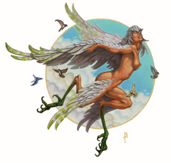 five companions celestial paragon guardinal Sathia la Duchessa dei Cieli degli Avoral - by Ben Thompson Libro delle Imprese Eroiche (2003) © Wizards of the Coast, 25 Edition & Hasbro
