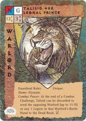 "five companions celestial paragon ""Talisid the Leonal Prince"", il Leone Celestiale - by Tony Diterlizzi TSR - ""Blood Wars"" card game Base Pack (1995) © Wizards of the Coast & Hasbro"