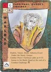"""court under the stars """"Faerinaal, Queen's Consort"""", il consorte di Morwel - by Rob Lazzaretti TSR - """"Blood Wars"""" card game Base Pack (1995) © Wizards of the Coast & Hasbro"""