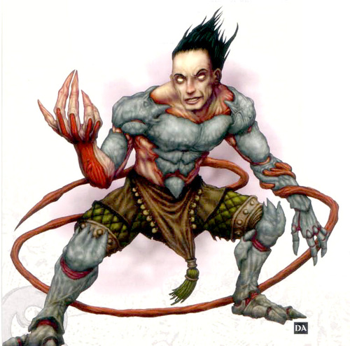 Daelkyr Daelkyr, gli Scultori di Carne - by Dave Allsop Eberron Campaign Settings (2004) © Wizards of the Coast & Hasbro
