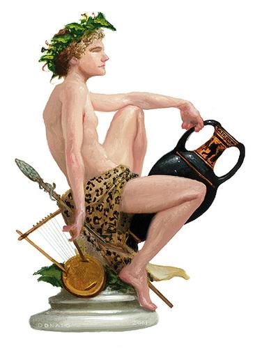 deiolimpici Dioniso, il Nato Due Volte Pubblicazione incerta © dell'autore