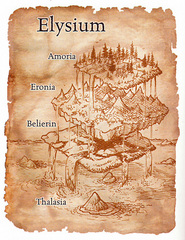 scheme Schema del piano di Elysium Manuale dei Piani (2005) © Wizards of the Coast, 25 Edition & Hasbro