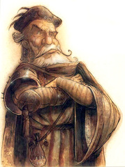 {$tags} Factol Rowan Darkwood dei Predestinati - by Tony Diterlizzi TSR - The Factol's Manifesto (1995-06) © Wizards of the Coast & Hasbro
