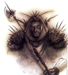 {$tags} Ferrumach Rilmani - by Tony Diterlizzi TSR Planescape - Monstrous Compendium Appendix II (1995-02) © Wizards of the Coast & Hasbro