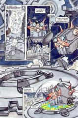 Planescape comic unity of rings ita italiano, rogue modron quadrone rinnegato portal
